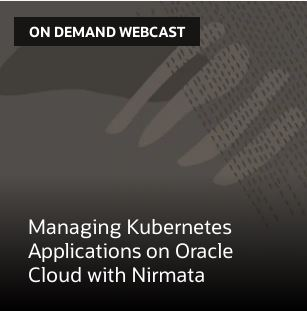 Managing Kubernetes Applications on Oracle Cloud with Nirmata