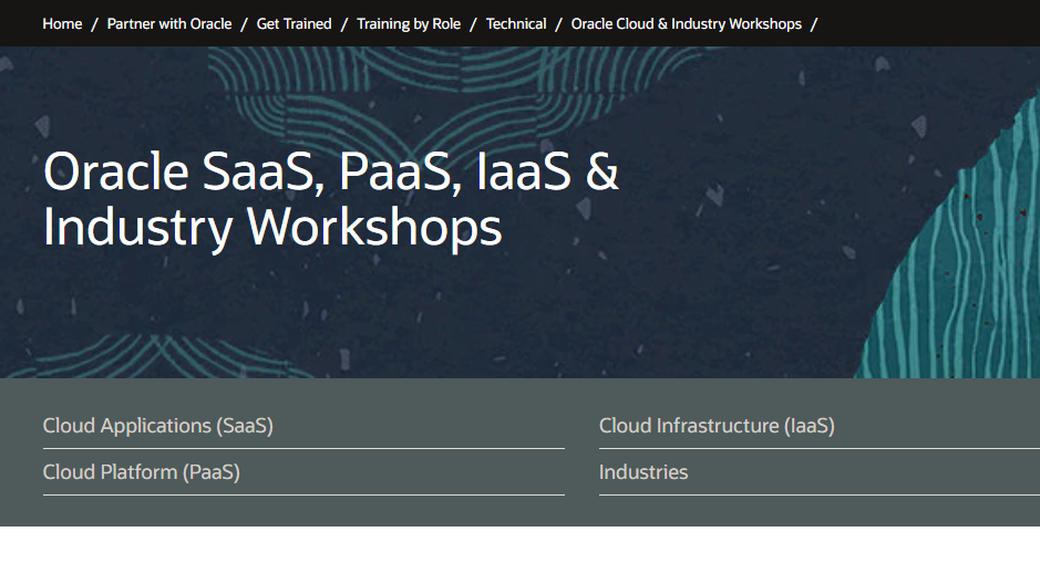 Cloud Applications (SaaS) Live Virtual Workshops